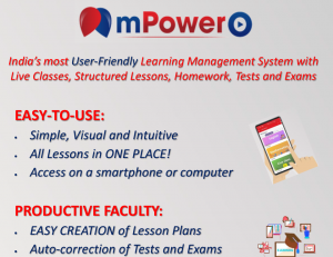 mpowero is an easy-to-use LMS with live classes, structed lessons and many more