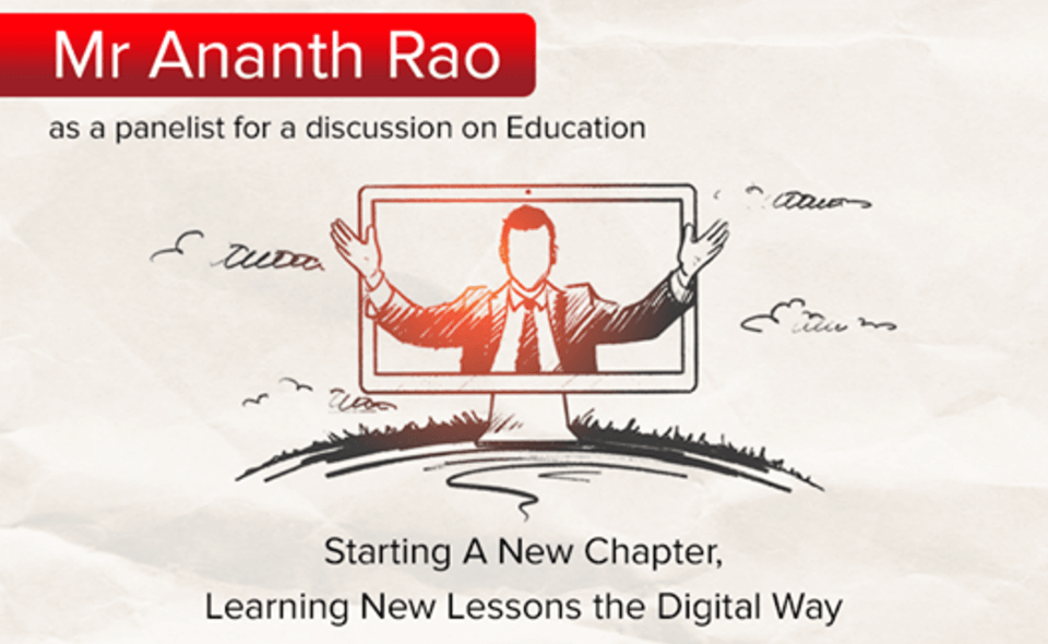 Mr. Ananth Rao, Chairman, mPowerO speaks with Times of India on Learning New Lessons the Digital Way