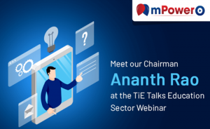 Mr. Ananth Rao, Chairman, mPowerO speaks with TiE Talks on eLearning
