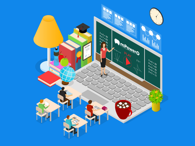 mpowero-Online Learning Mobile App providing insights on strategies in being Successful