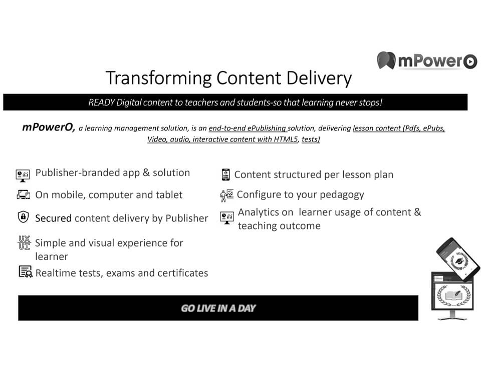 Transform Content Delivery for Publishers using mPowerO platform